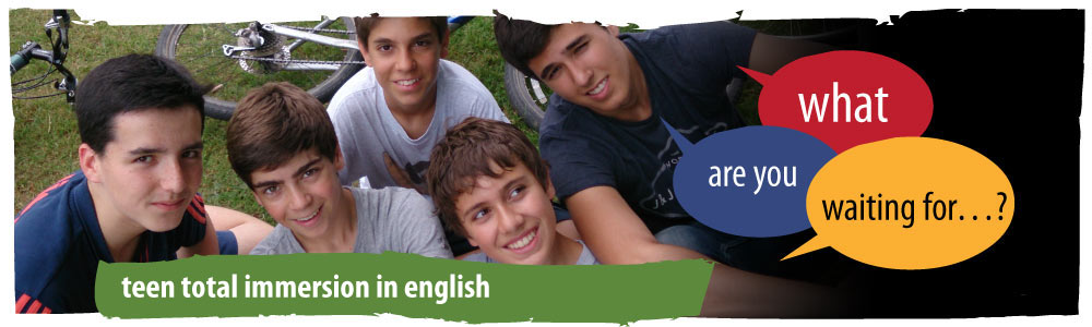 Teens Total Immersion in English Courses